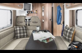 Swift Fiat Ducato motorhome, interior